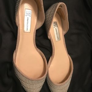 INC Silver and Gold Flats